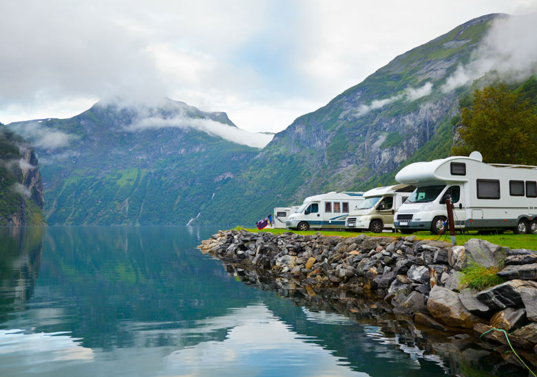 Camping Campers RVs
